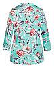 Plus Size Sienna Sleep Shirt - mint