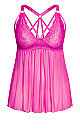 Sophie Strappy Babydoll - pink