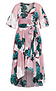 Rose Bud Floral Maxi Dress - rosebud