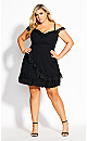 Angelique Dress - black
