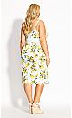 Lemon Spot Dress - ivory