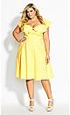 Delightful Dress - lemon