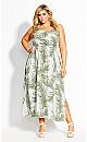 Scoop Oahu Maxi Dress - white