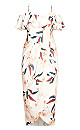 Plus Size Sweet Orchid Dress - ivory