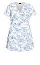 Bell Flower Dress - ivory