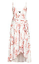Plus Size Juno Floral Dress - ivory
