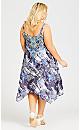 St Tropez Dress - blue