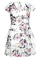 Plus Size Summer Love Dress - ivory