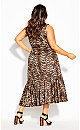 Plus Size Animal Lust Dress - animal