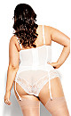Plus Size Alina Underwire Bustier - linen