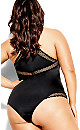 Plus Size Krista Bodysuit - black