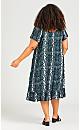 Plus Size Harper Dress - sage