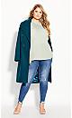 Plus Size Lace Angel Elbow Sleeve Top - dewkist