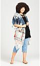 Plus Size Hannah Kimono -