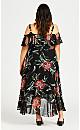 Plus Size Amy Decadence Dress - black