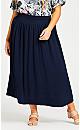 Plus Size Chelsea Skirt - navy