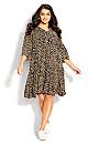 Plus Size Endless Sun Mini Dress olive