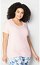 Plus Size Enzyme Washed French Terry Sweatshirt