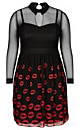 DRESS MISS LIPPY - Black - 20 / L