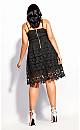 Women's Plus Size So Fancy Dress - black