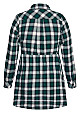 Checked Dress - green
