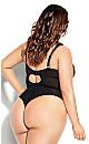 Brooke Underwire Bodysuit - black