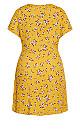 Precious Ditsy Dress - amber