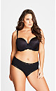 Plus Size Smooth & Chic Multiway Contour Bra - black