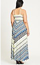 MAXI SUPER STRIPE - Sunshine - 16 / S