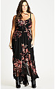 MAXI ANTIQUE FLORAL - Antique Floral - 16 / S
