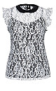 TOP LADY VICTORIA - Ivory - 14 / XS