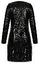 Bright Lights Dress - black