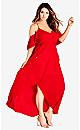 Miss Jessica Maxi Dress - scarlet
