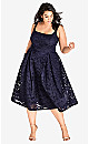 Jackie O Dress - navy