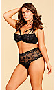 Eve Lace Thong - Black