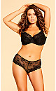 Cosette Lace Hipster - black