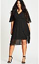 Love Affair Dress - black