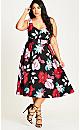 Pretty Garden Fit & Flare Dress