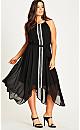Runway Asymmetric Dress