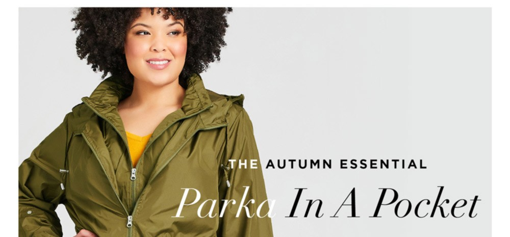SELECT JACKETS $44 & UNDER* - The Autumn Essential - Parka In A Pocket - SHOP NOW