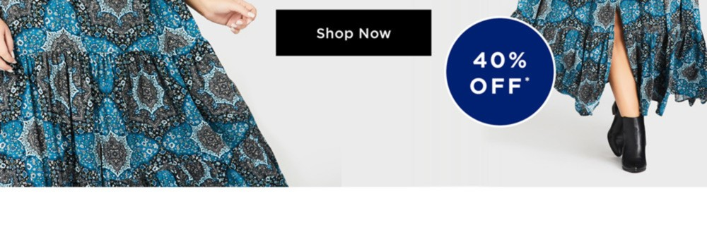 NEW IN DRESSES - BOHO CHARM - Meet your prints charming! Add a perfectly paisley print with a floaty, flattering shape - 40% OFF - SHOP NOW