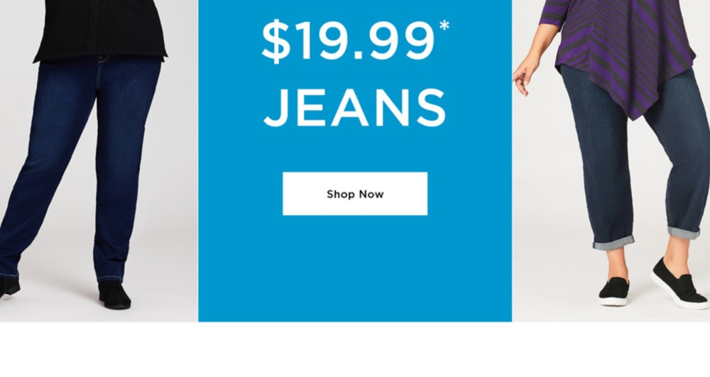 DENIM DARLING - ON NOW $19.99 JEANS - SHOP NOW