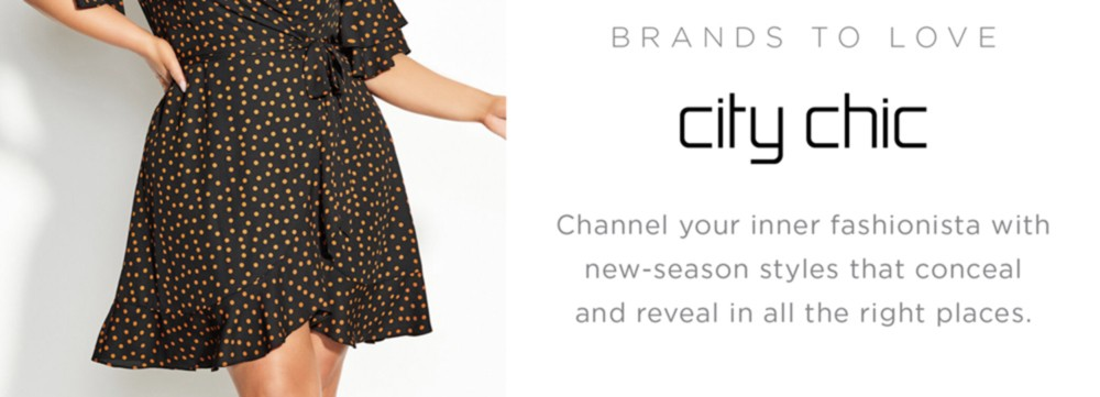 Channel your inner fashionista with new-season styles that conceal and reveal in all the right places.
