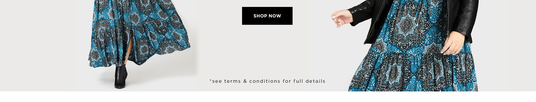 60% Off* All Dresses - See Terms & Conditions for full details - Prices as marked - SHOP NOW