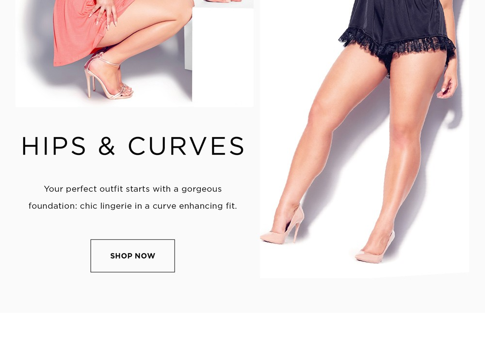 MEET OUR NEWEST BRANDS - HIPS & CURVES - SHOP NOW